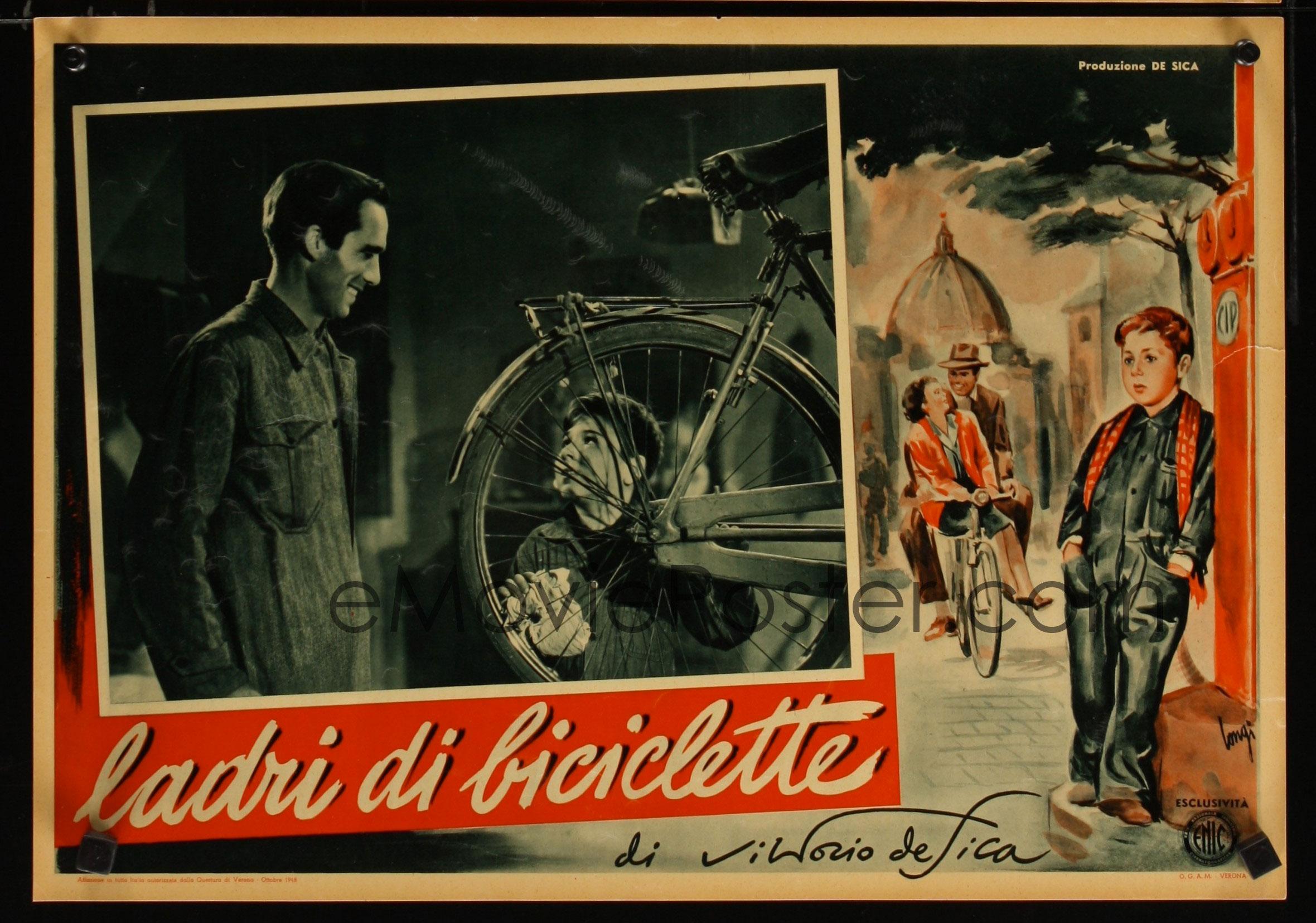Ladri di Biciclette 1948-Poster
