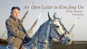 Letër shokut Kim Jong-un